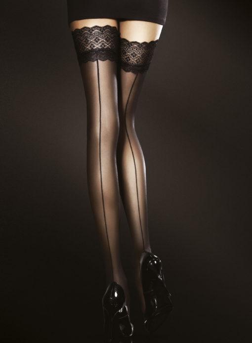 Elegant selvsiddende strømpe fra søm fra Fiore