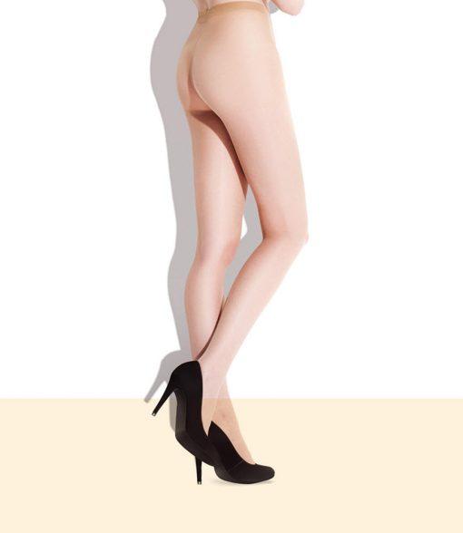 Ultra tynde nude looke strømpebukser i 8 den. Fås i to flotte farver