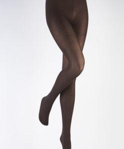Perla basis strømpebukser i chokolade eller mørkebrun i plus size fra Adrian