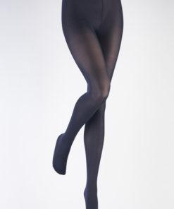 Perla navy eller marineblå basis strømpebukser til plus size kvinder fra Adrian