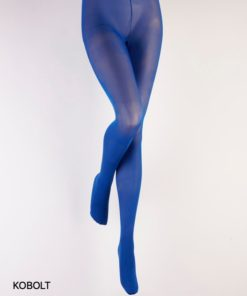 Basisstrømpebukser i kobolt blå Paula fra Fiore
