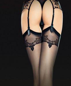 Sensuelle strømper til hofteholder med eksklusiv kant