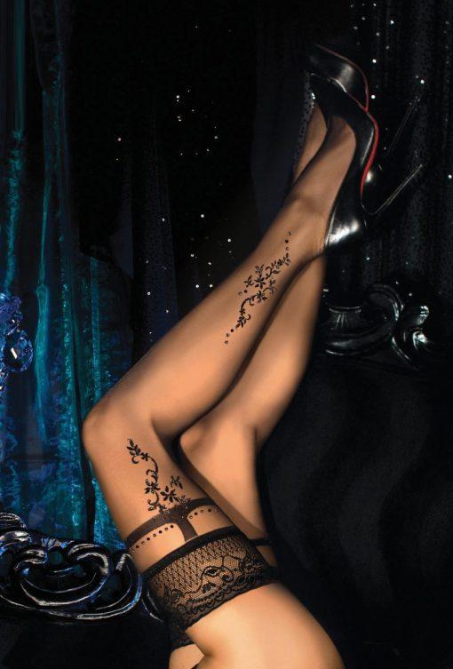 Eksklusive selvsiddende strømper fra Ballerina
