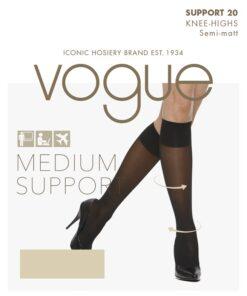 Kvalitets kompressions ankelstrømpe fra Vogue
