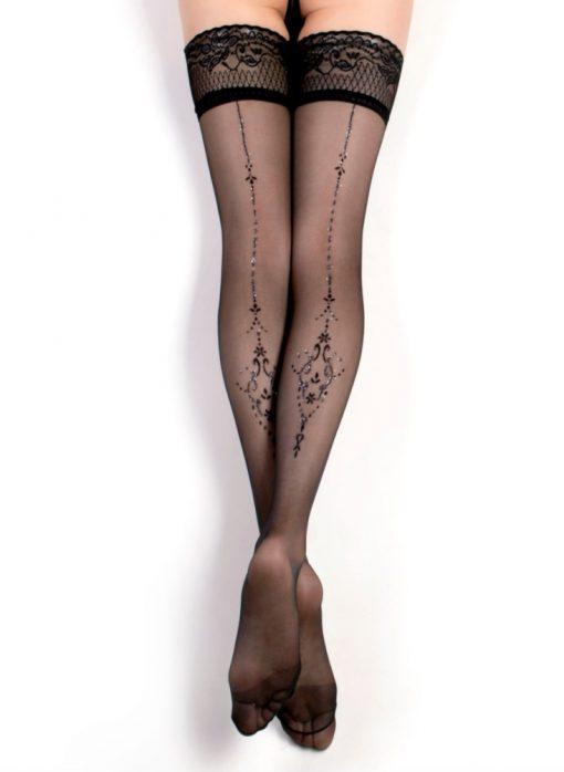 Fantasy selvsiddende nylon strømper fra Ballerina